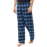 French Connection Mens Flannel Lounge Pants Multi Blue