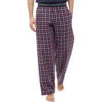 French Connection Mens Woven Lounge Pants Marine/Red