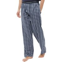French Connection Mens Woven Lounge Pants Marine/White