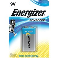 Energizer Advanced 9V Battery 1 Pack