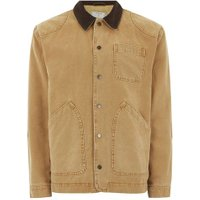 Mens Yellow Mustard Chore Jacket, Yellow