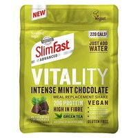 Slimfast Vegan Advanced  Shake - Intense Mint Chocolate - 486g