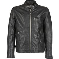 Schott  BLODOU  men's Leather jacket in Black