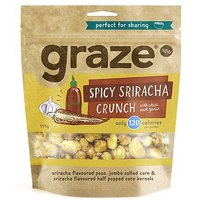 Graze Spicy Sriracha Crunch 111g