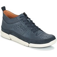 Clarks  TRIFRI HI  men's Shoes (Trainers) in Blue