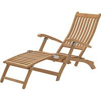 KETTLER RHS Chelsea Outdoor Steamer Chair FSC-Certified (Acacia Wood), Natural