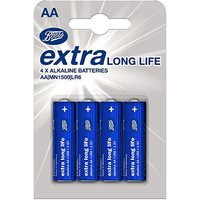 Boots XLL batteries AA 4s