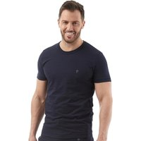 French Connection Mens FC Lounge T-Shirt Marine/Gunmetal