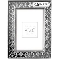 Crystal Effect Butterfly Photo Frame - 6x4