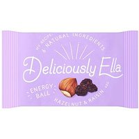 Deliciously Ella Hazelnut & Raisin Energy Ball - 40g