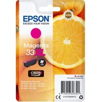 EPSON No. 33 Oranges XL Photo Magenta Ink Cartridge, Magenta