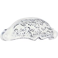 John Lewis & Partners Embossed Drawer Pull, Distressed White
