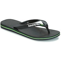 Havaianas  BRAZIL LOGO  men's Flip flops / Sandals (Shoes) in Black