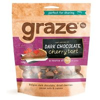 Graze's version of Dark Chocolate Cherry Tart 128g