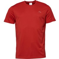 More Mile Mens Running Top Red