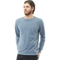 ONLY & SONS Mens Crew Neck Sweatshirt Blue Mirage