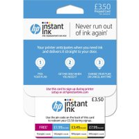 HP Instant Ink 3.50 Prepaid Card