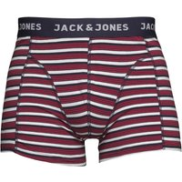 JACK AND JONES Mens Calya Trunks Lipstick Red