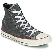 Converse  Chuck Taylor All Star Hi Stone Wash  men's Shoes (High-top Trainers) in Grey