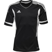 adidas Mens Campeon 11 3 Stripe Climacool Top Black/White/White