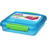 Sistema Lunch Sandwich Box , 450ml, Assorted
