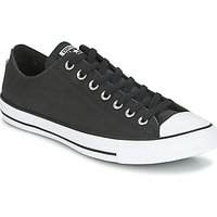 Converse  Chuck Taylor All Star Ox Fashion Leather  men's Shoes (Trainers) in Black