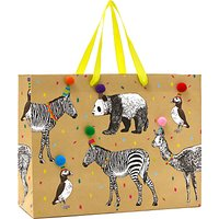 John Lewis & Partners Animals Party Hats Gift Bag