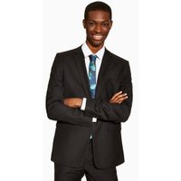 Mens Black Skinny Suit Jacket, Black