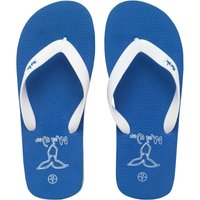 Mad Wax Mens Flip Flops White/Royal