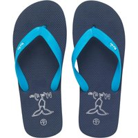 Mad Wax Mens Flip Flops Blue/Navy