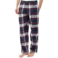 French Connection Mens Flannel Lounge Pants Multi Chateaux