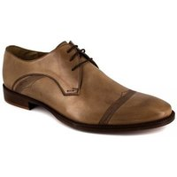 Peter Blade  Derby  Camel Leather LONI  men's Casual Shoes in multicolour