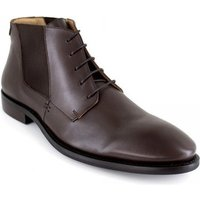 J.bradford  Low Boots  Brown Leather JB-MINERAL  men's Mid Boots in multicolour