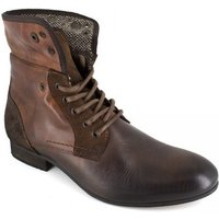 Peter Blade  Low Boots  Brown Leather PUNKA  men's Mid Boots in multicolour