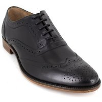 Peter Blade  Richelieu  Black Leather HARTAN  men's Smart / Formal Shoes in multicolour