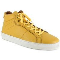 Peter Blade  Sneaker  Yellow Leather MAZATLAND  men's Shoes (High-top Trainers) in multicolour