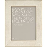 John Lewis & Partners Daria Linen Effect Photo Frame, 8 x 10 (20 x 25cm)