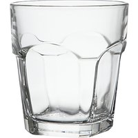 House by John Lewis Stackable Glass Tumbler, Clear, 270ml