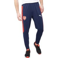 Puma Mens AFC Arsenal DryCELL FC Slim Fit Training Pants Peacoat/Red