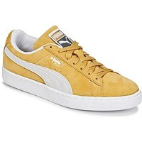 Puma  SUEDE CLASSIC  men's Shoes (Trainers) in Yellow