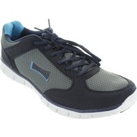 Lonsdale  LMA458  men's Shoes (Trainers) in Grey