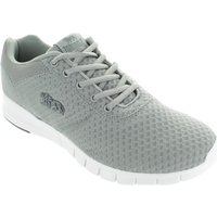 Lonsdale  LLA486  men's Shoes (Trainers) in Grey