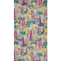 John Lewis & Partners Flora Wallpaper, Dark Duck Egg