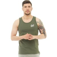 JACK AND JONES Mens Anything Chest Tank Top Thyme
