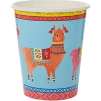 Talking Tables Boho Llama Paper Cups, Pack of 8