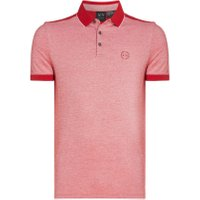 Men's Armani Exchange Contrast Collar Polo, Chilli