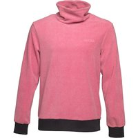 Gotcha Mens High Neck Fleece Washed Red