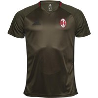 adidas Mens ACM AC Milan Training Top Night Cargo/Black/Victory Red