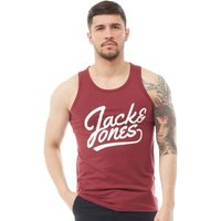 JACK AND JONES Mens Anything Tank Top Cordovan