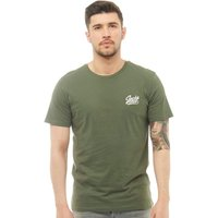 JACK AND JONES Mens Anything Chest T-Shirt Thyme